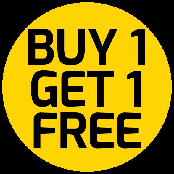 Buy 1 Get 1 Free PNG HD.