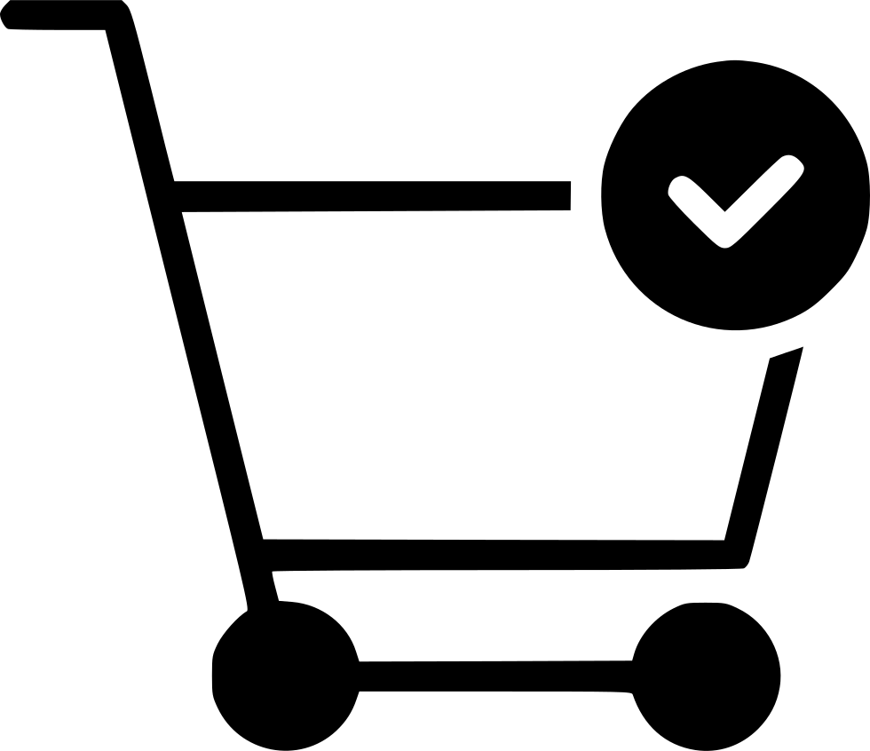 Cart Trolley Buy Done Checkmark Svg Png Icon Free Download (#569396.