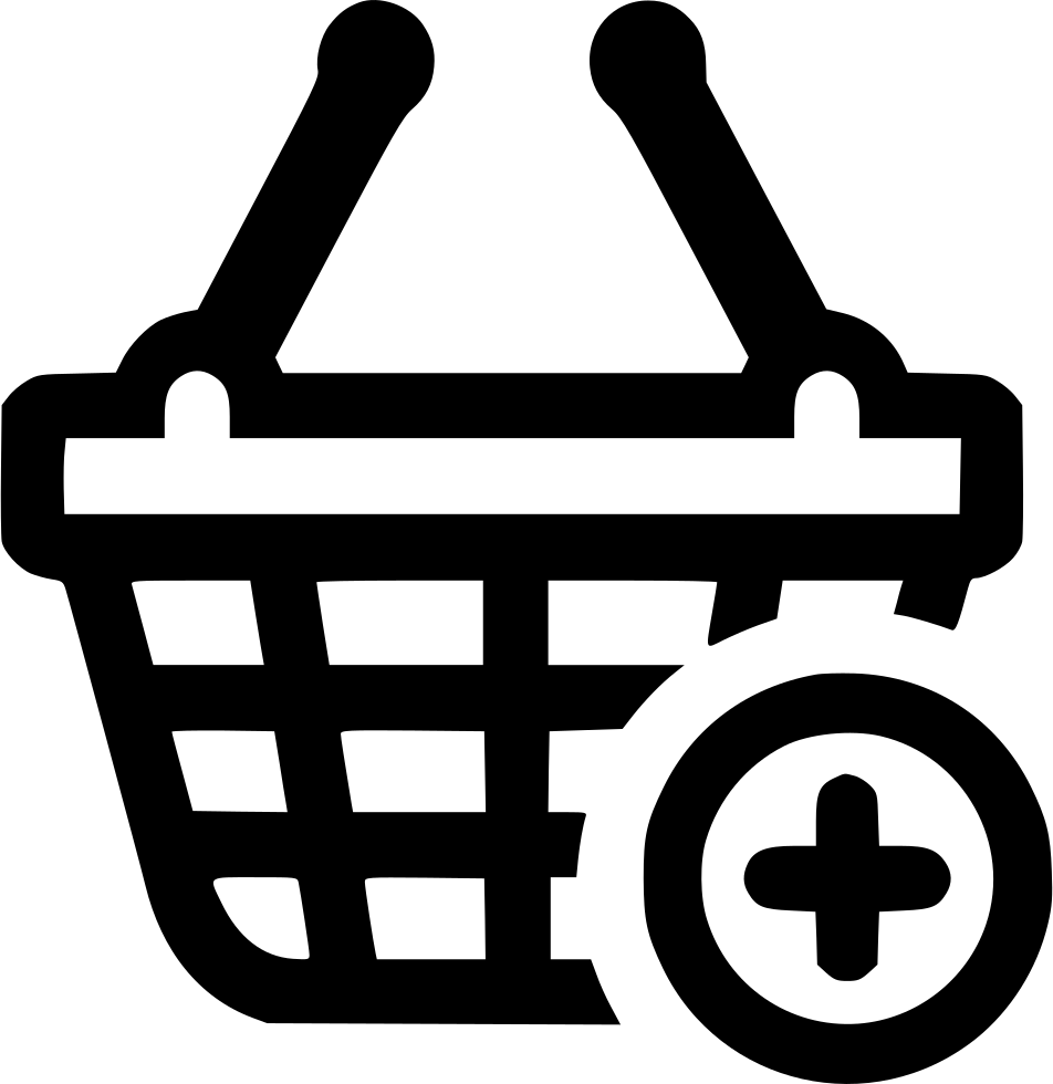 Basket Shopping Plus Add Shopping Buy Svg Png Icon Free Download.