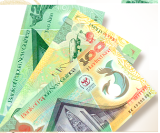 PNG Kina continues to depreciate against US dollar.