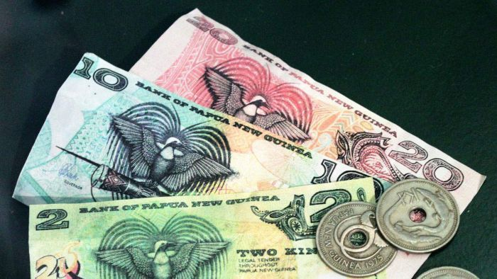 PNG Central Bank moves to stabilise the kina with foreign currency.