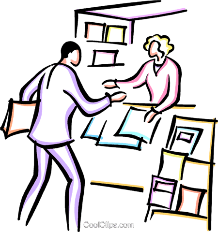 Newspaper Vendor Clipart