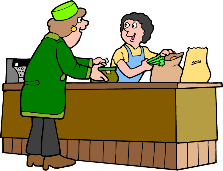 Buying clipart.