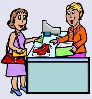 Buying clothes clipart 4 » Clipart Station.