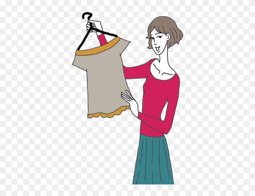 Buying Clothes Clipart Png Transparent Png (#171132.