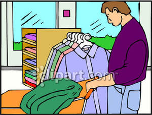 Buying clothes clipart 1 » Clipart Station.