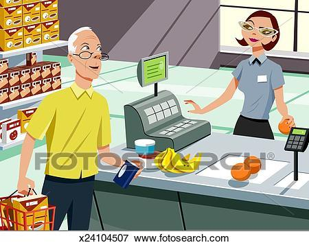 Buying food clipart 2 » Clipart Portal.