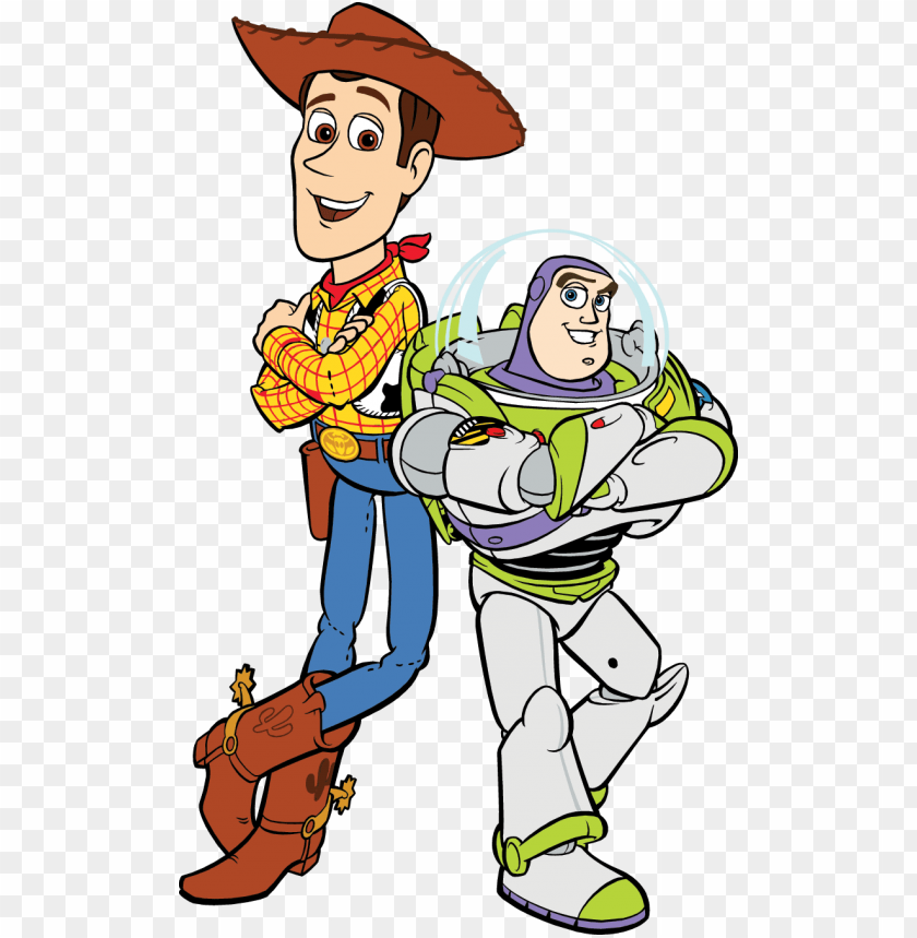toy story clipart woody and buzz.