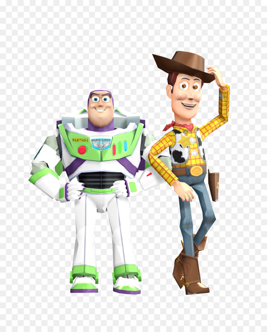 Woody And Buzztransparent Png Image & Cl #762004.