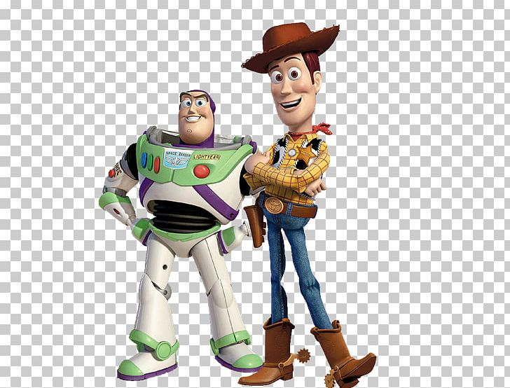 Sheriff Woody Buzz Lightyear Jessie Toy Story Standee PNG.