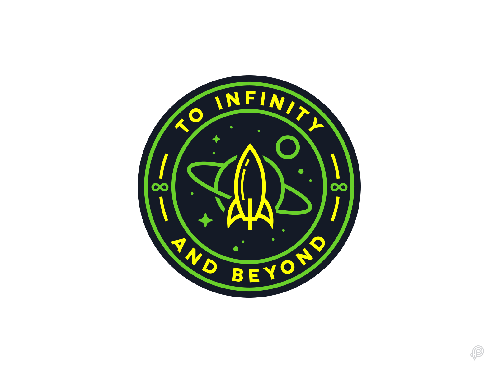 To Infinity And Beyond by Petr Had on Dribbble.