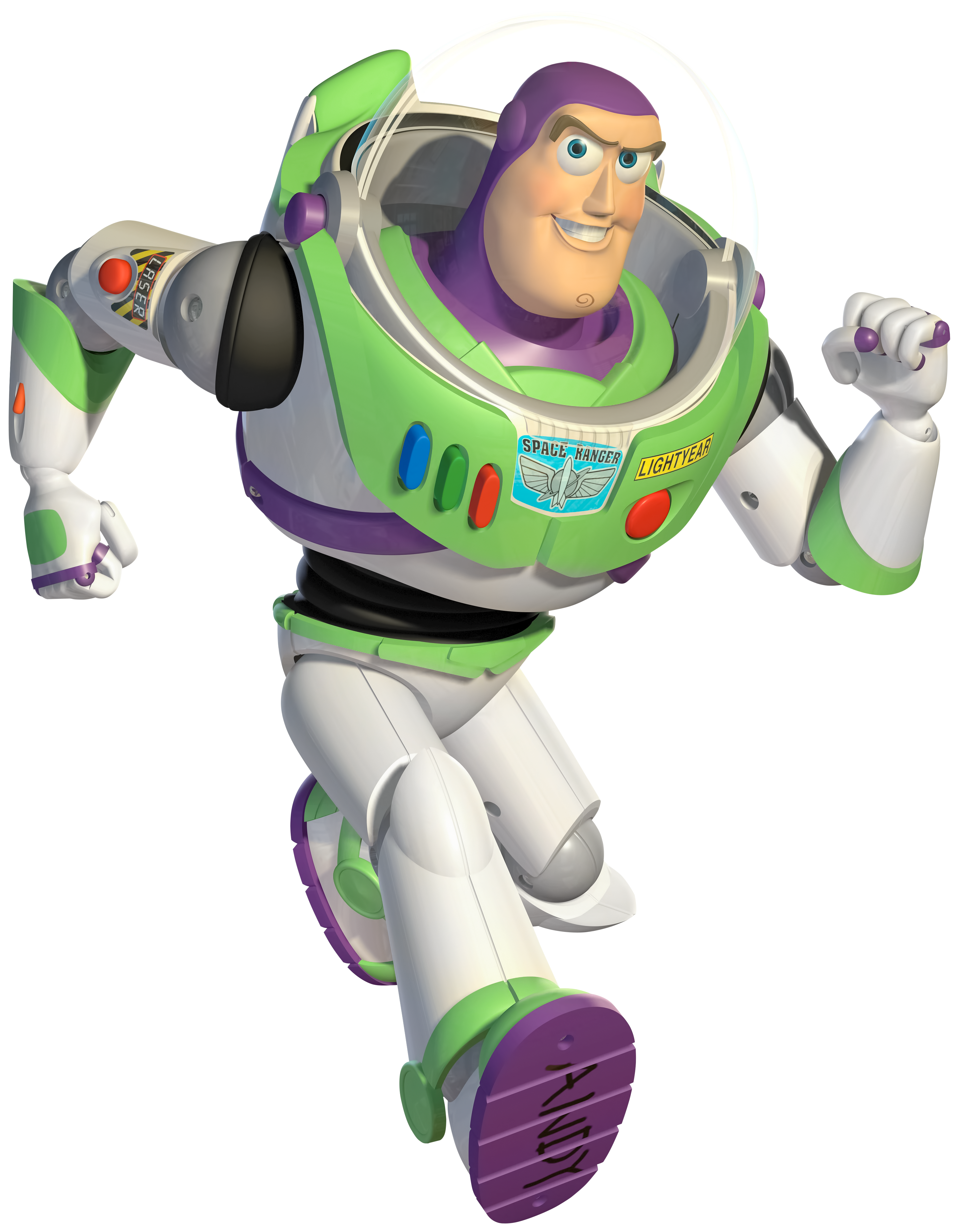 Toy Story Buzz Lightyear PNG Clip Art Image.