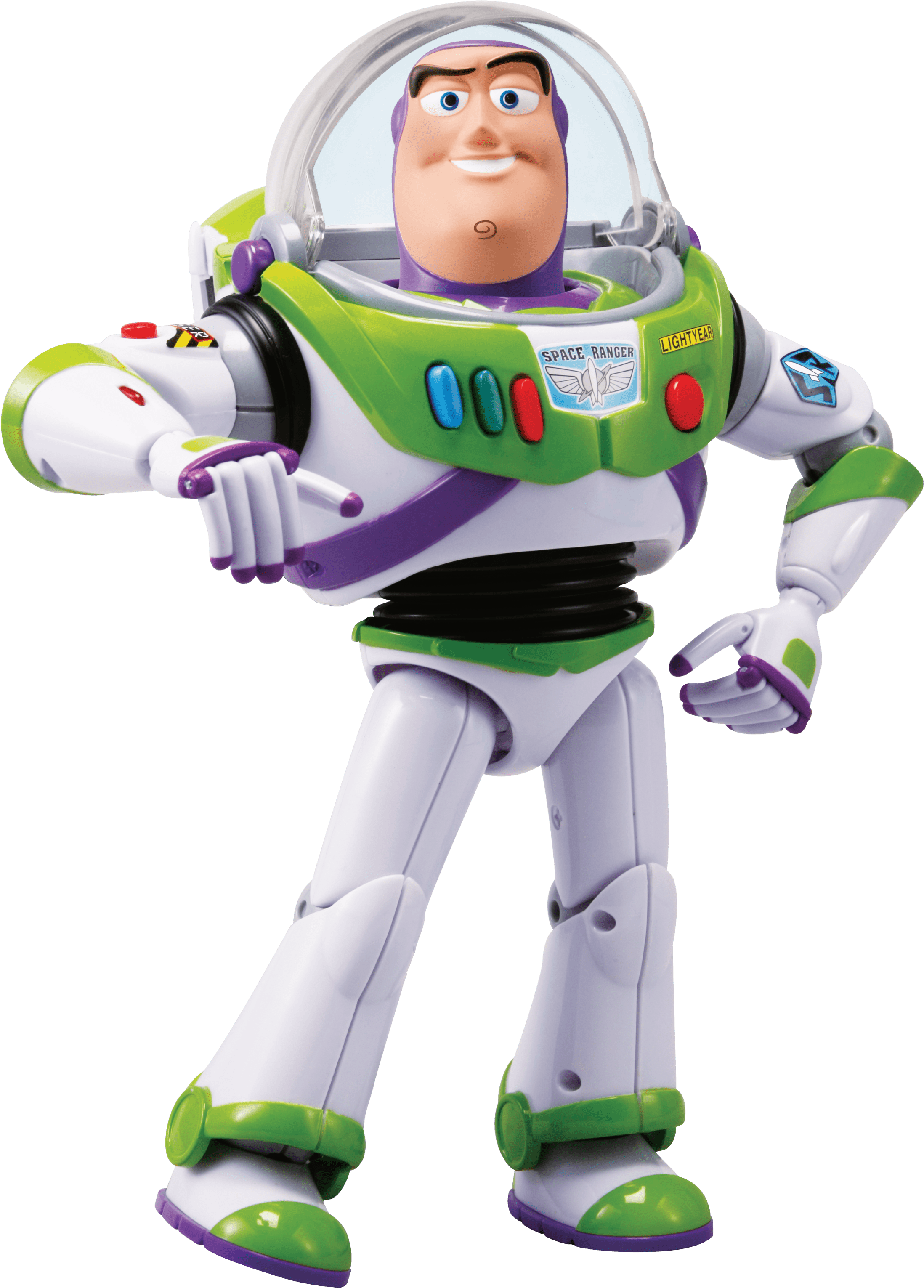 HD Toy Story 4 Life Size Talking Buzz Lightyear Action.