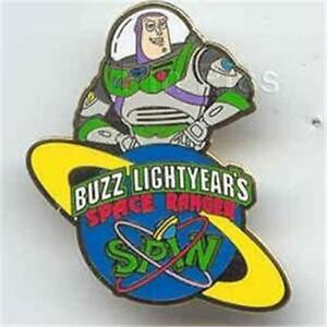 Details about BUZZ LIGHTYEAR\'s SPACE RANGER SPIN ATTRACTION 2003 Toy Story  DISNEY PIN.