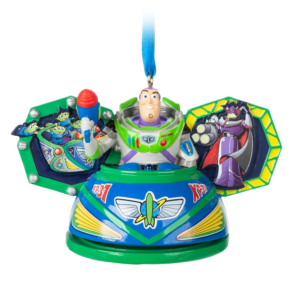 Buzz Lightyear Space Ranger Spin Ear Hat Ornament.