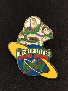 Details about Disney WDW Buzz Lightyear Space Ranger Spin Pin Trading Toy  Story Buzz 2003 Rare.