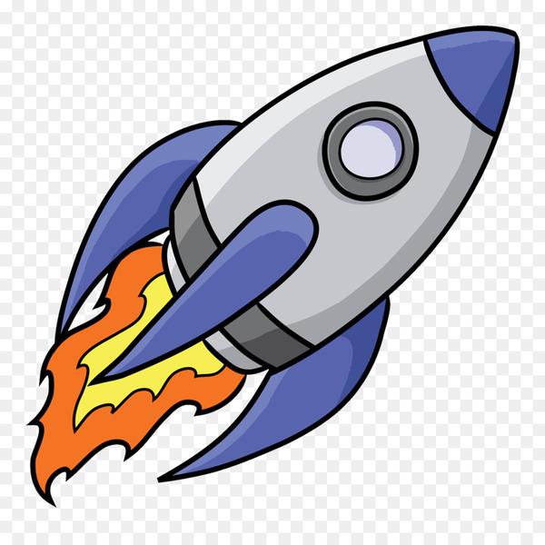 Spacecraft Rocket Free content Clip art.