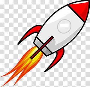 Red and teal rocket art, Buzz Lightyear Rocket Spacecraft Cohete.