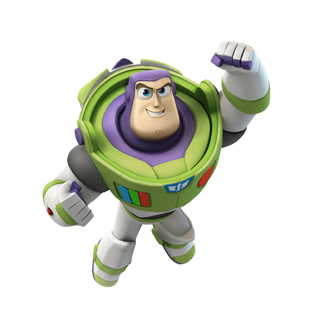 Buzz Lightyear Flying transparent PNG.