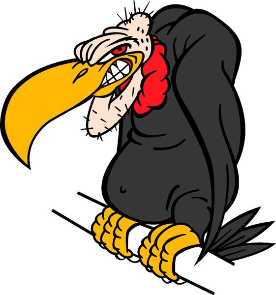 Old buzzard clipart.