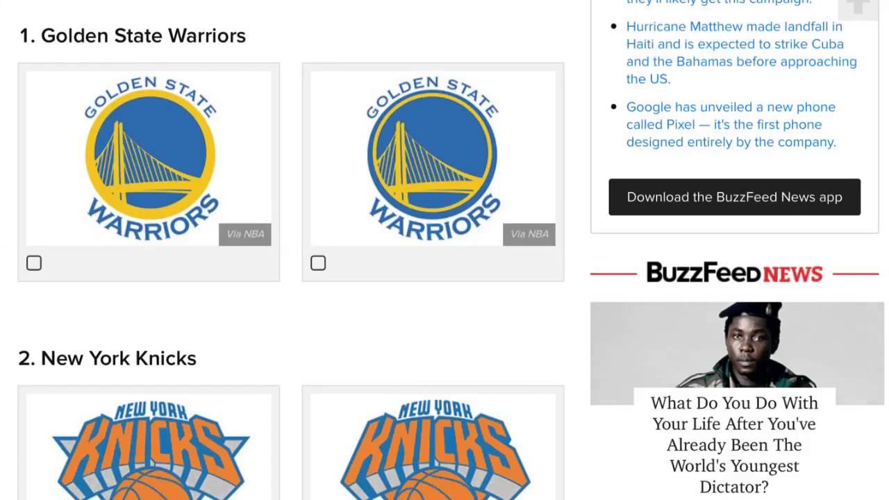 Hardest NBA Logo Quiz!!!.