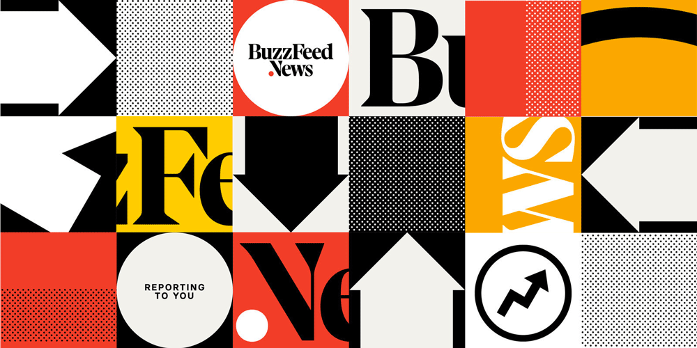 New Logo for BuzzFeed News.