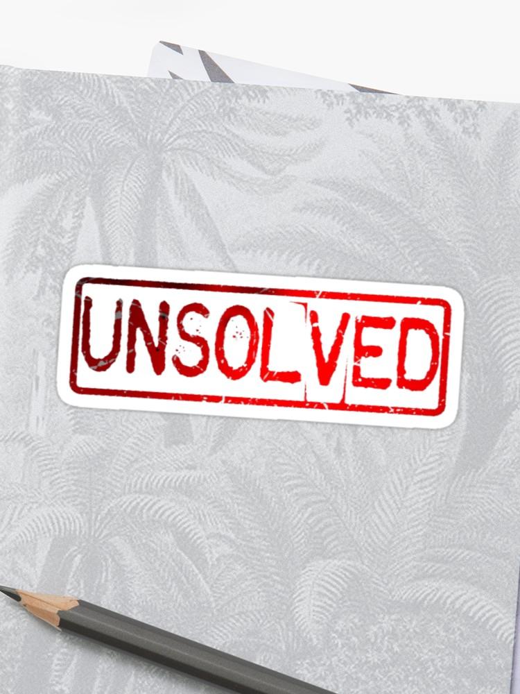 \'Buzzfeed Unsolved Logo\' Sticker by kae.