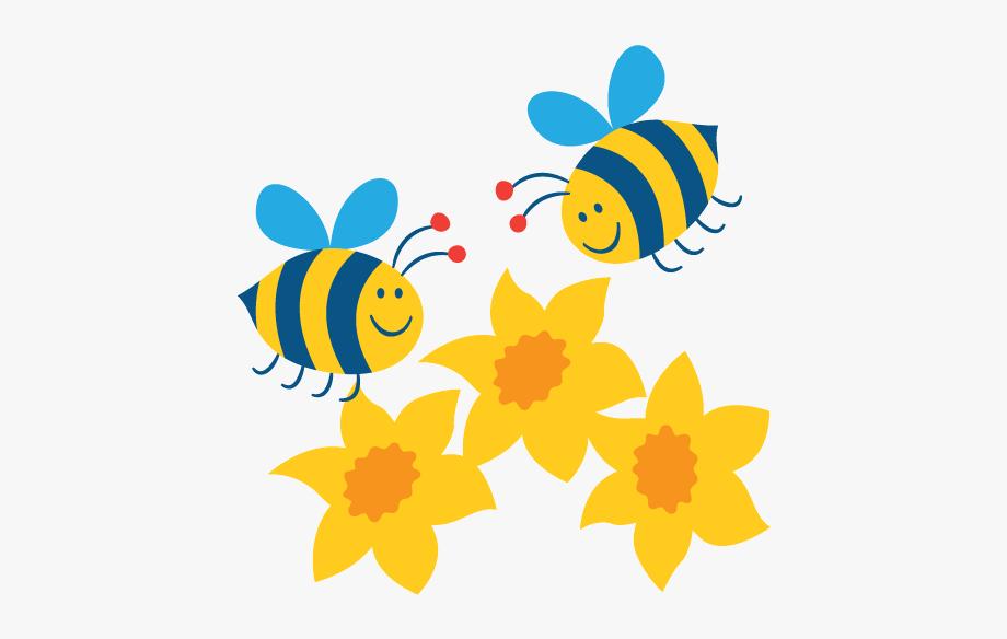 Buzzing Bee Clip Art.