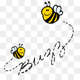 Buzzing Bees PNG and Buzzing Bees Transparent Clipart Free.