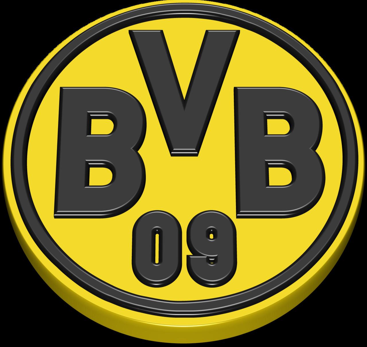 Borussia Dortmund Fc 3d Logo Png Images.