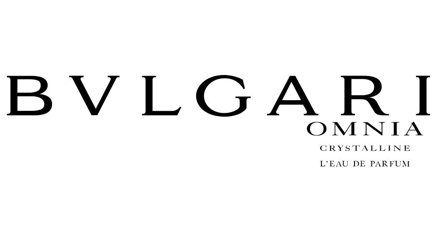 BVLGARI OMNIA CRYSTALLINE L'EAU DE PARFUM Vector Logo.