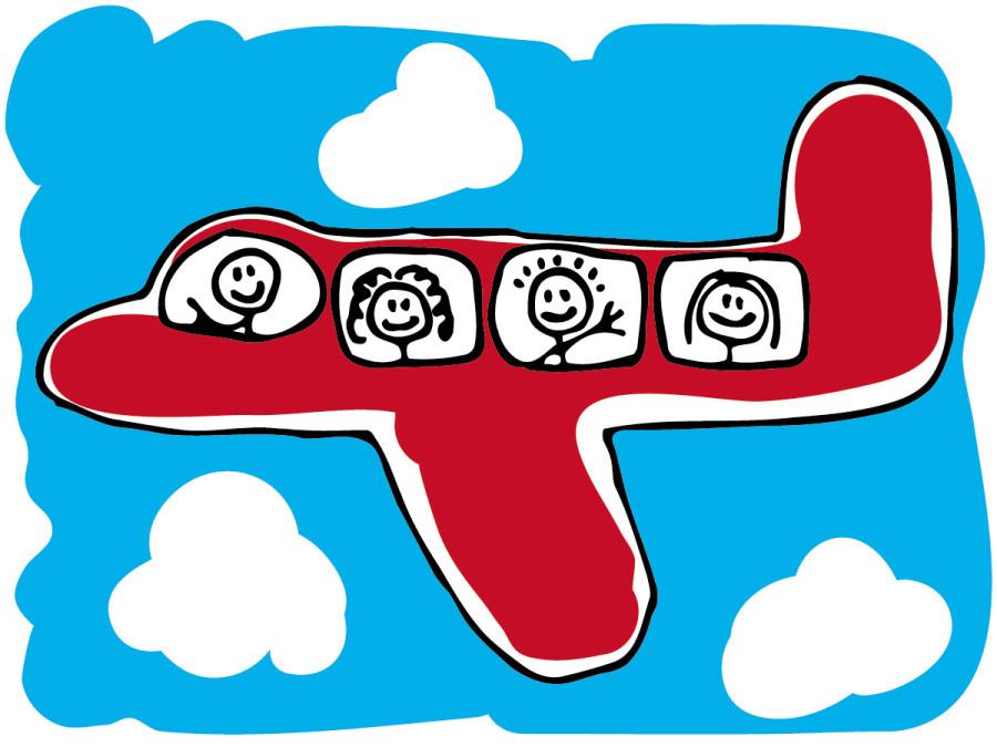Clip art of plane.