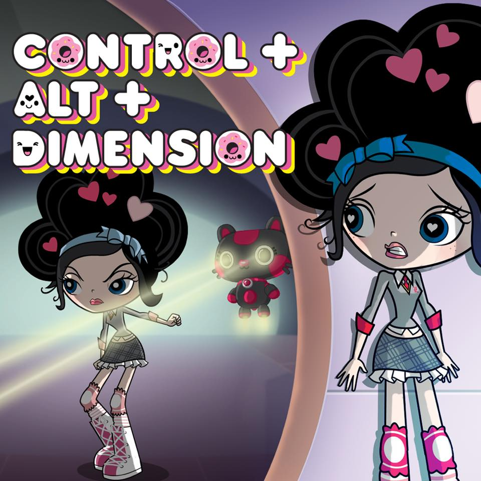 Control Plus Alt Plus Dimension.