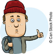 Hitchhiker Clip Art and Stock Illustrations. 397 Hitchhiker EPS.