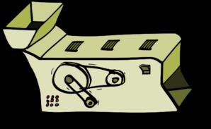 Mail Machine Clipart.