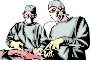 Heart Operation Clip Art.