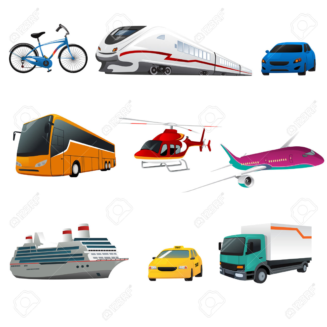 By Public Transport Clipart Clipground
