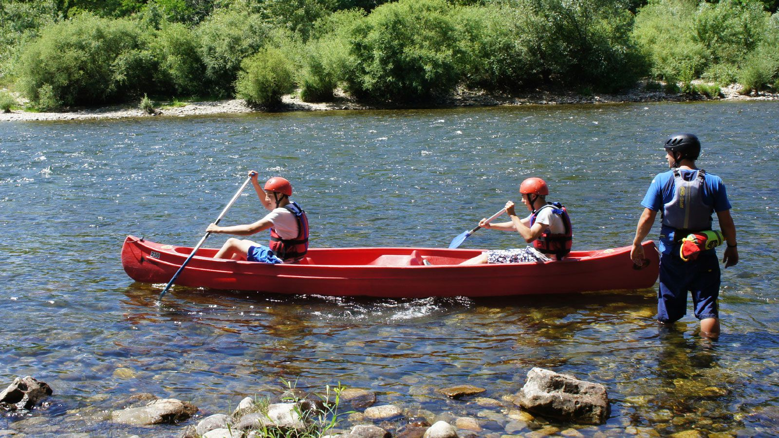 Ardèche Adventure Trips for Brigade and Cadet Groups.