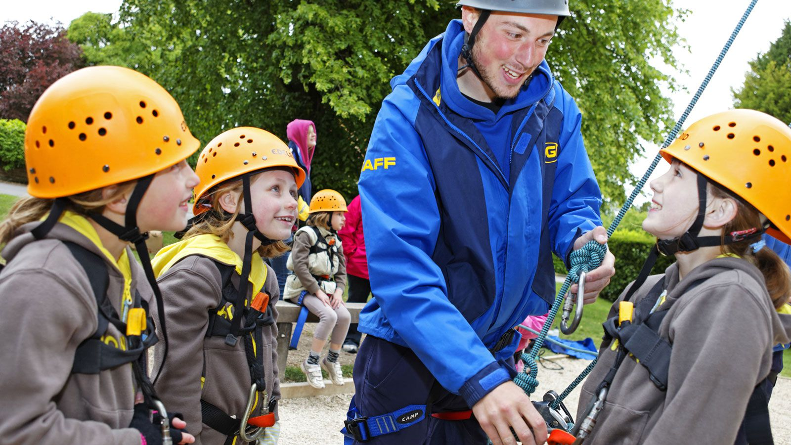 Ardèche Adventure for Girl Guides.