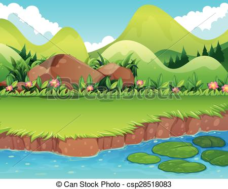 grass river clipart clipground