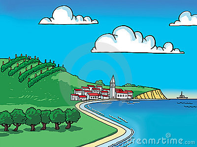By the sea clipart.