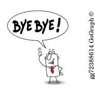 Bye Bye Clip Art.