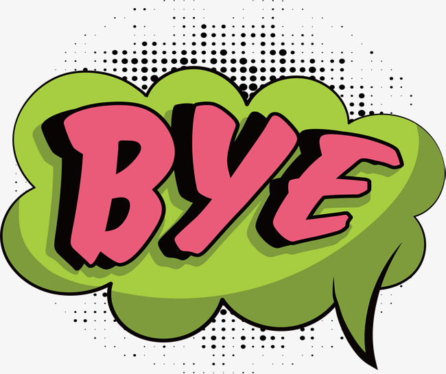 Bye Png, Vector, PSD, and Clipart With Transparent Background for.