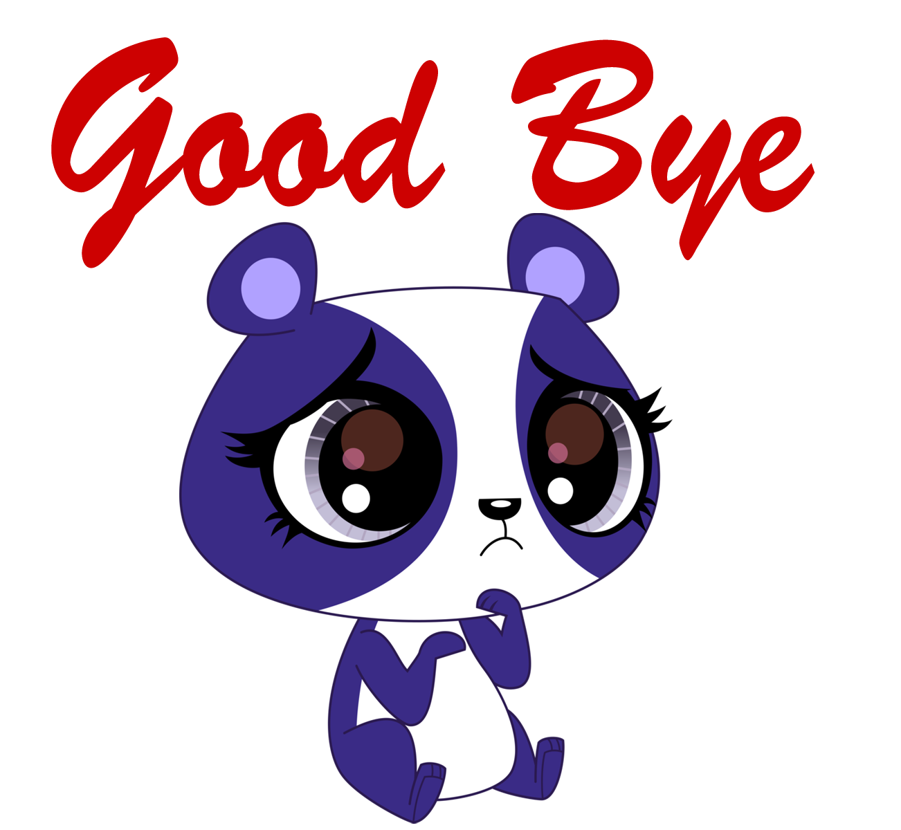 Good Bye PNG Picture.