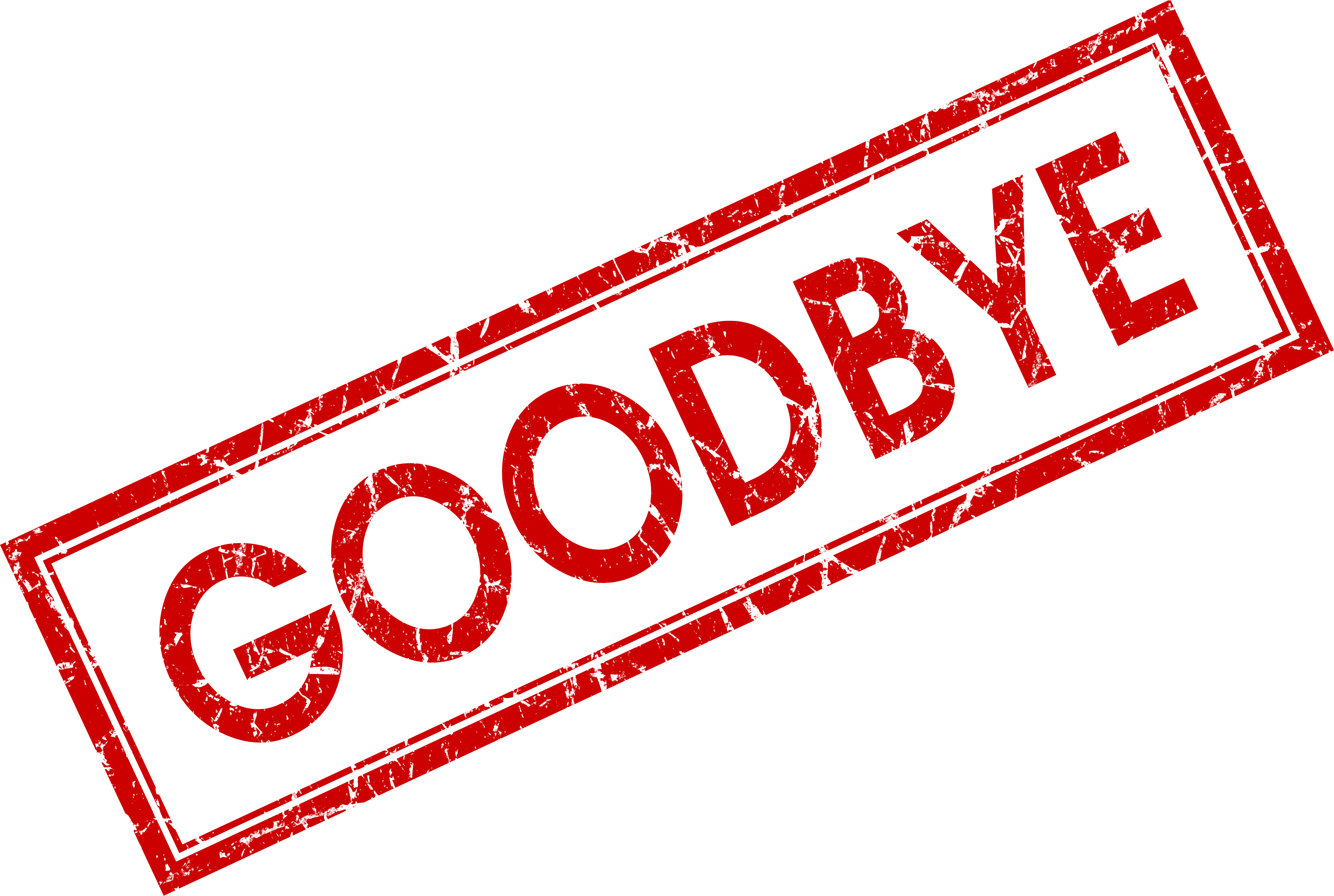 Good Bye Png & Free Good Bye.png Transparent Images #27434.