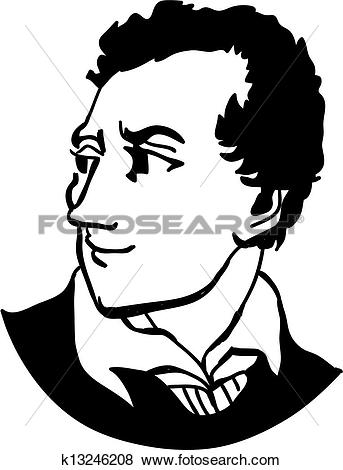 Stock Illustration of Lord Byron k13246208.