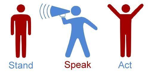 Community bystander intervention training offered.