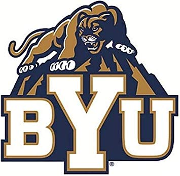 Amazon.com: 7 Inch BYU Cougar Logo Decal Brigham Young.