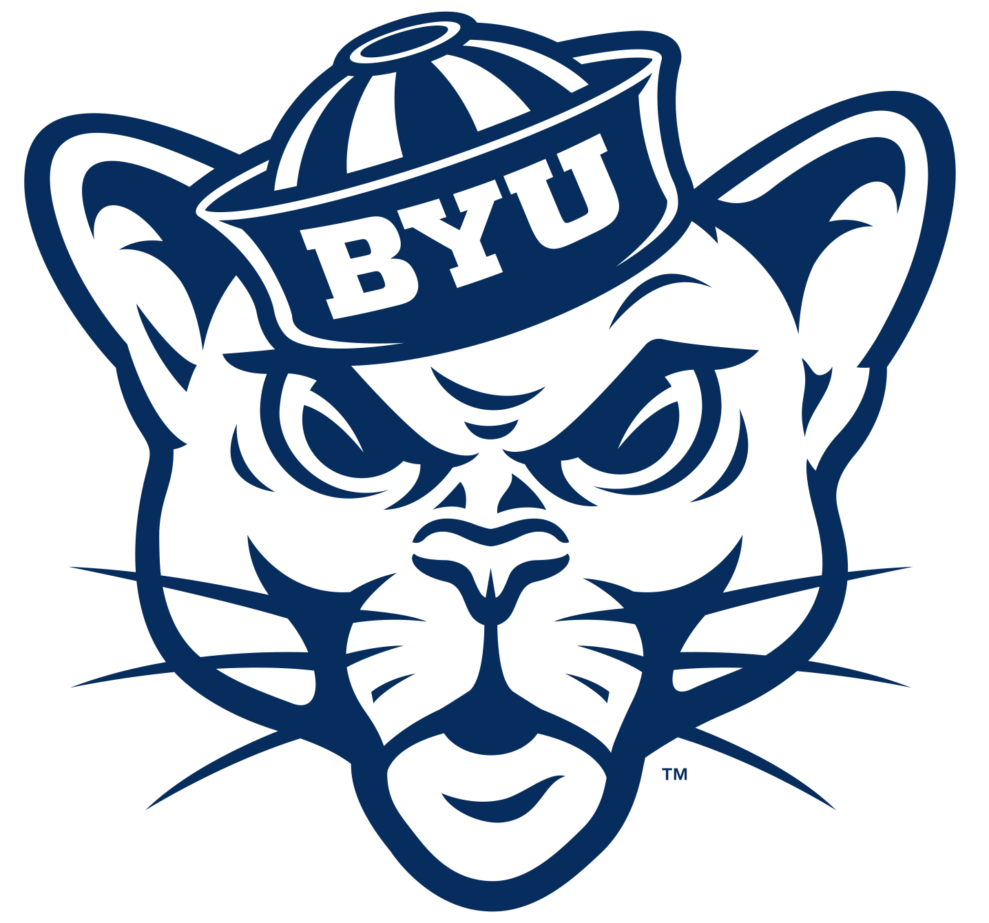 Secondary \'sailor cougar\' logo reinforces BYU\'s tradition.