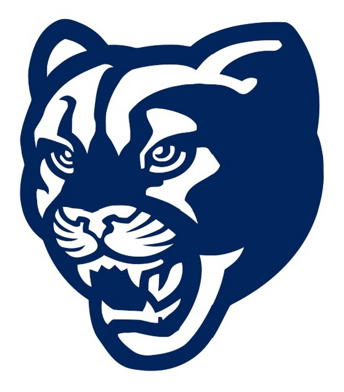 ncaa0664 BYU Cougars old school logo Die Cut Vinyl Graphic Decal Sticker  NCAA.